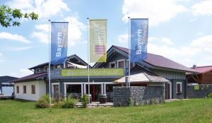 Die BayernBlock-Firmenzentrale in Merching