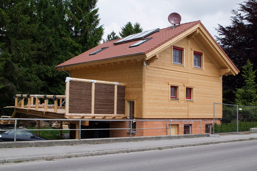 """Holzhaus in Hulta-Bauweise """"Schleifer"""""""