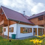 """Holzhaus in Hulta-Bauweise """"Weichs"""""""