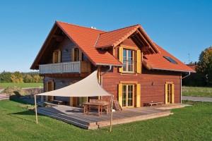 "Holzhaus in Hulta-Bauweise ""Hofer/Steinsberger"""