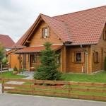 "Holzhaus aus Kantholzbalken ""Petrazoller"" (Frankreich"""
