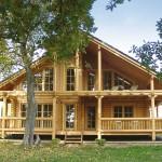 """Holzhaus aus Rundholzbalken """"Benischke"""""""