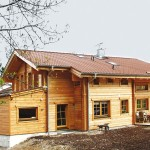 "Holzhaus in ThermoBlock-Bauweise ""Fasching"""