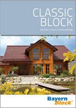 Holzhaus-Infomaterial: ClassicBlock-Katalog