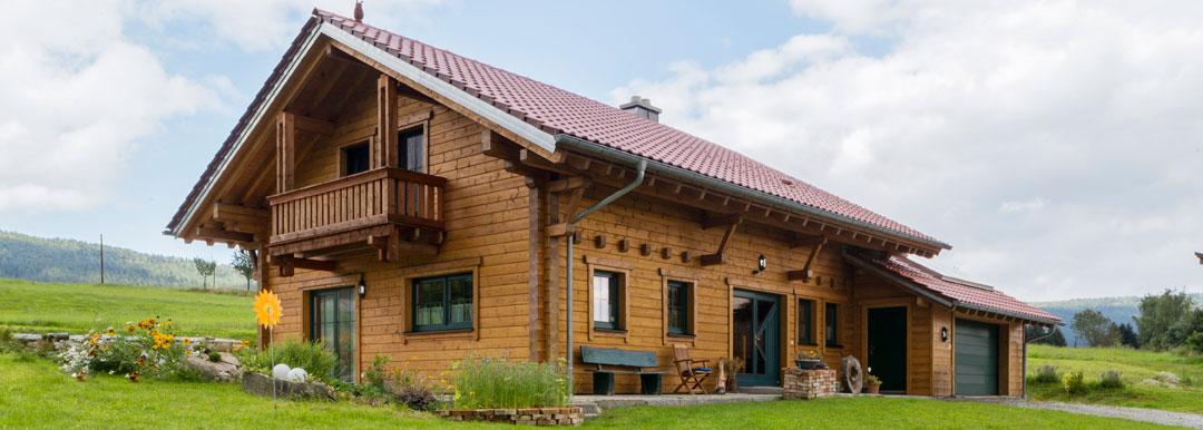 Holzhaus Fertighaus Bauen Massive Holzhauser Und Blockhauser