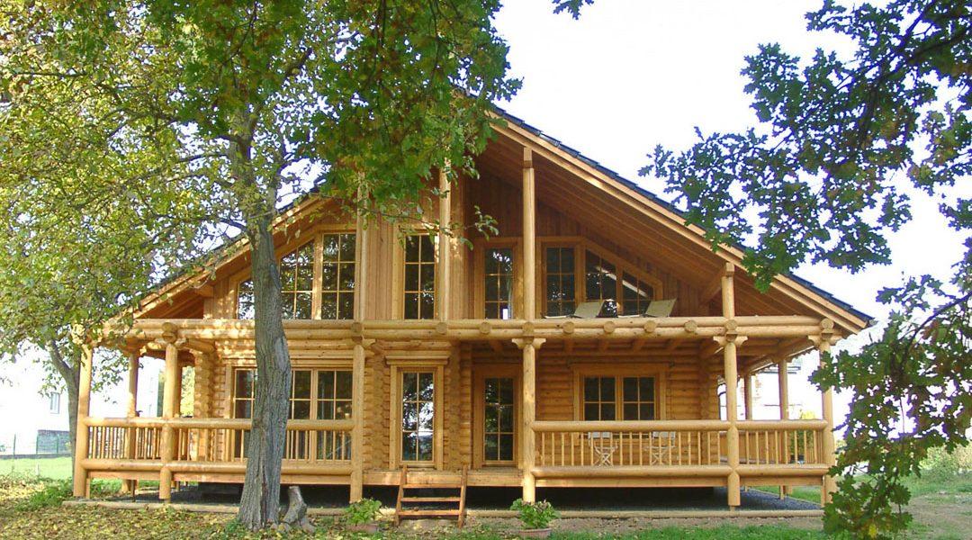 Rundbalkenhaus Benischke