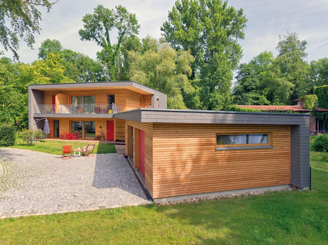Haus Seitz in Hulta Bauweise