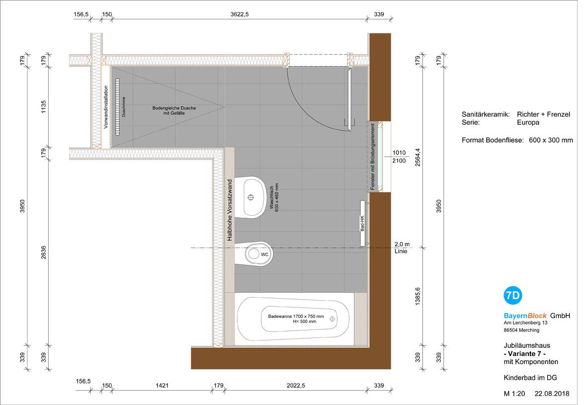 Bad Jubiläumshaus 7 - Variante 2